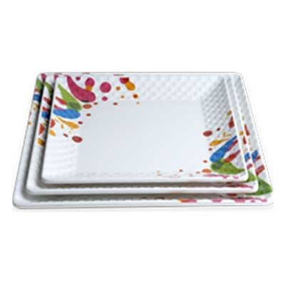 square-design-plate